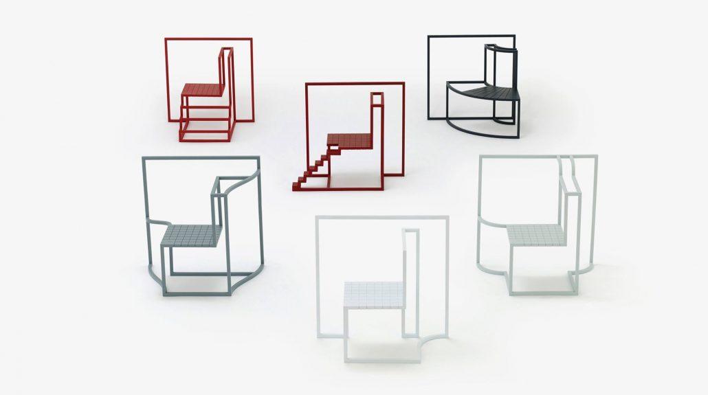 mobili design metallo