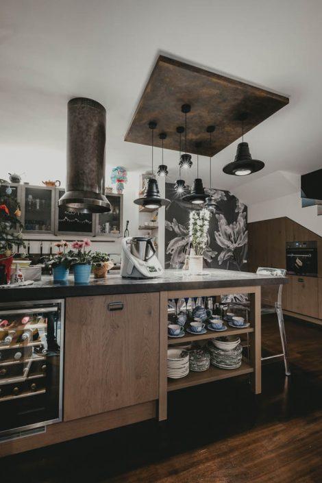 mobili cucina in stile industriale