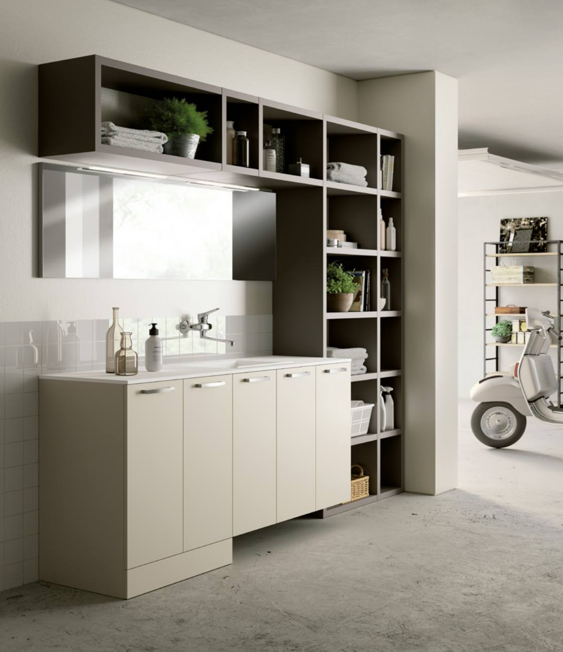 Arredamento lavanderia casa come organizzare lo for Arredo per lavanderia di casa