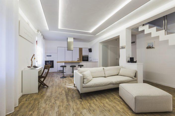 soluzione luci cartongesso soffitto