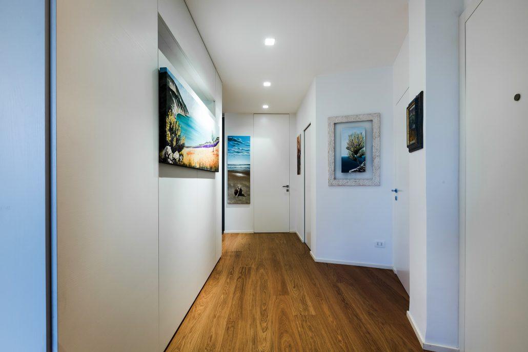 quadri decorativi pareti corridoio