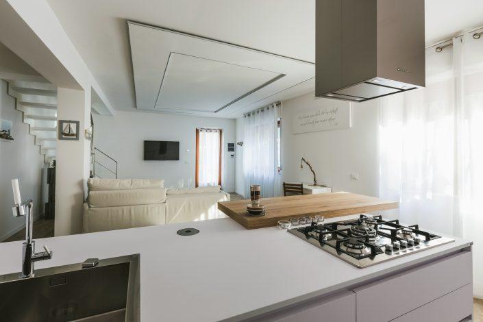 arredamento moderno cucina soggiorno
