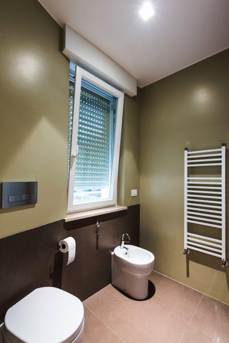 pareti bagno colore verde
