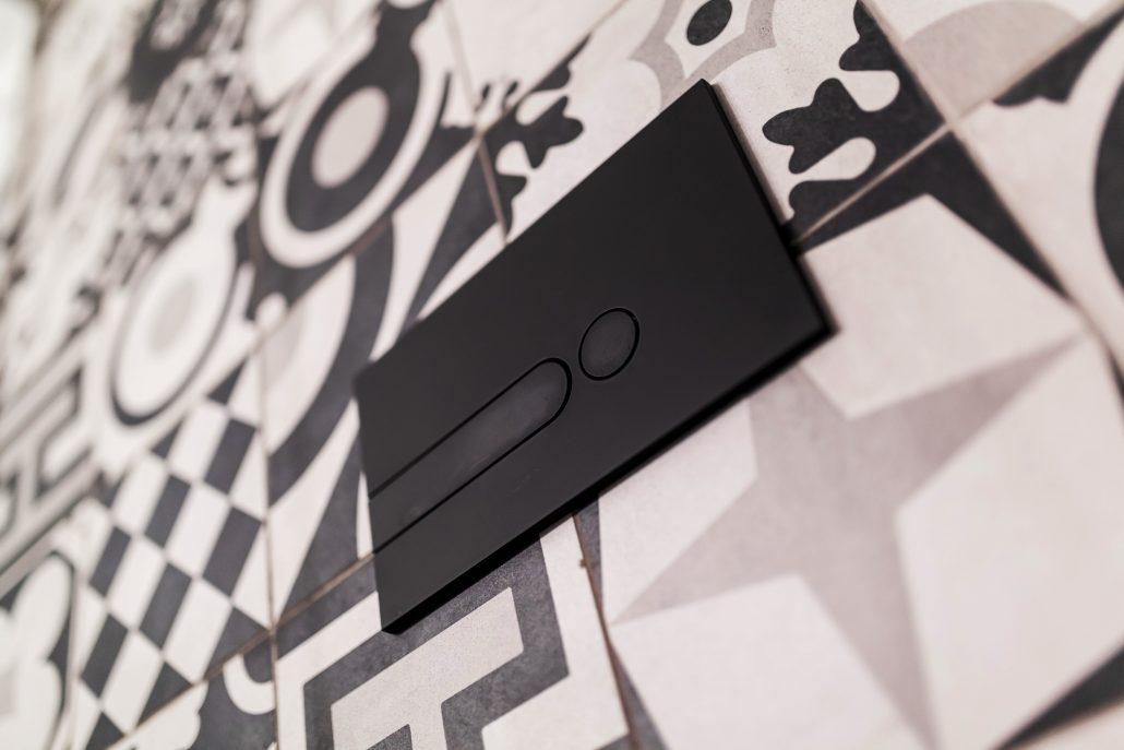 placca pulsanti wc design