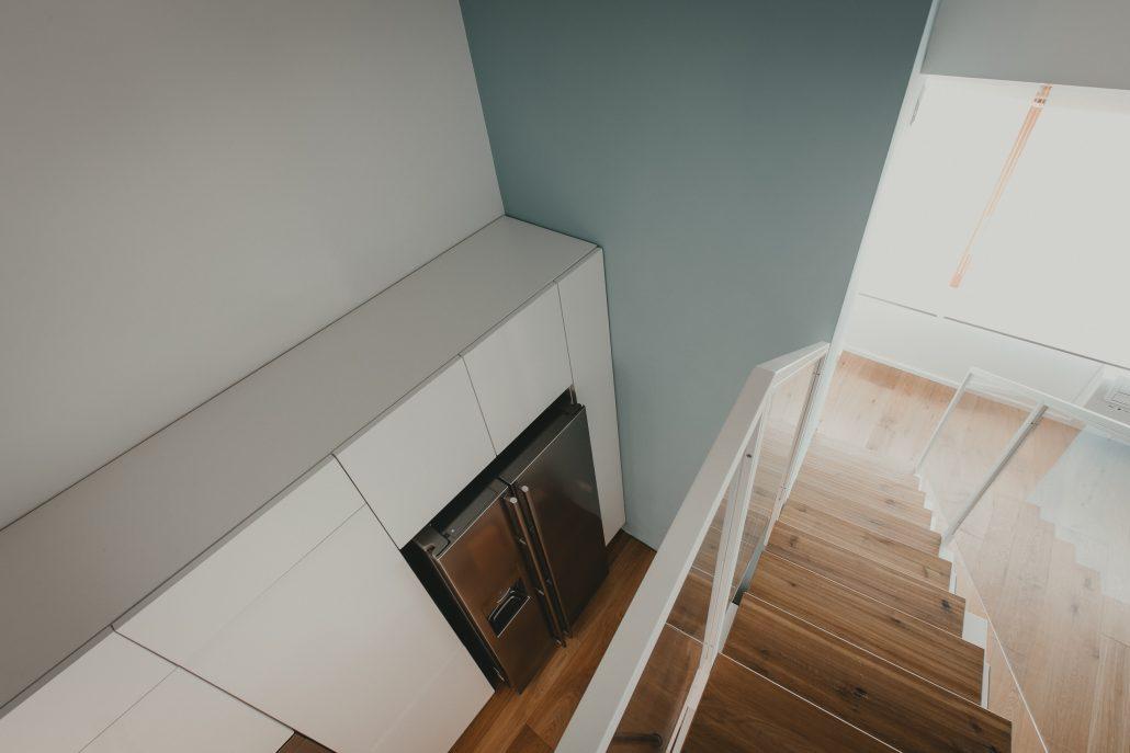 interior design casa con soppalco