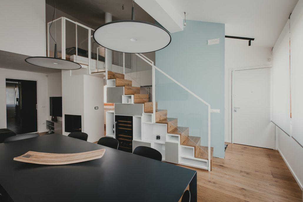 arredamento casa con soppalco