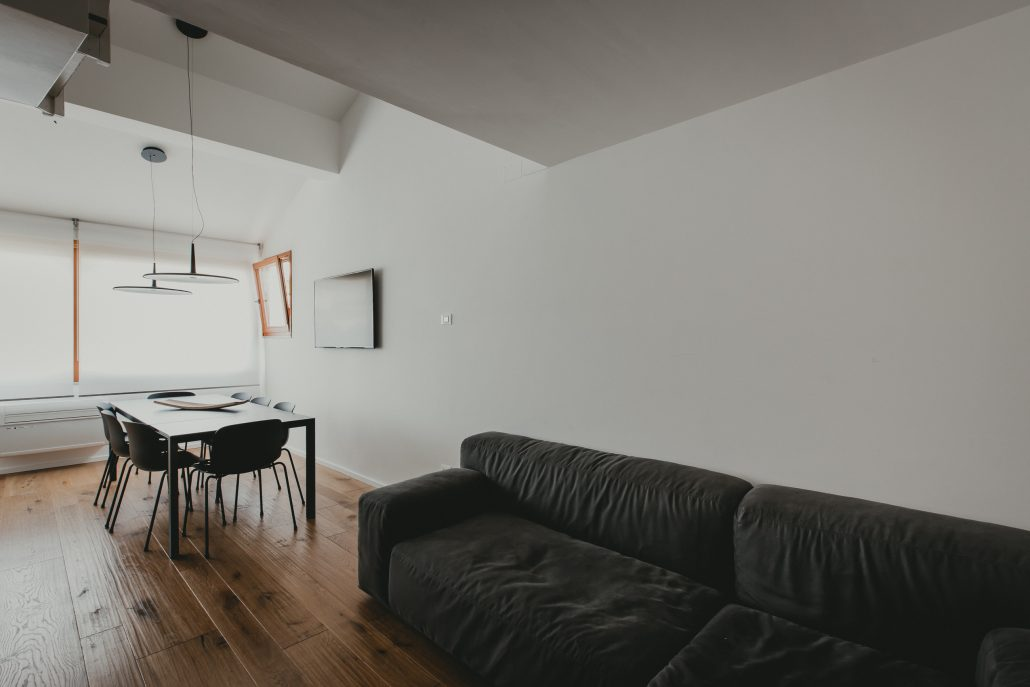 arredamento zona living stile scandinavo