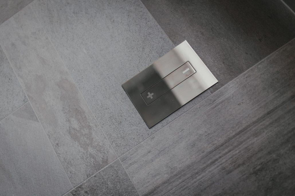 placca comando wc design