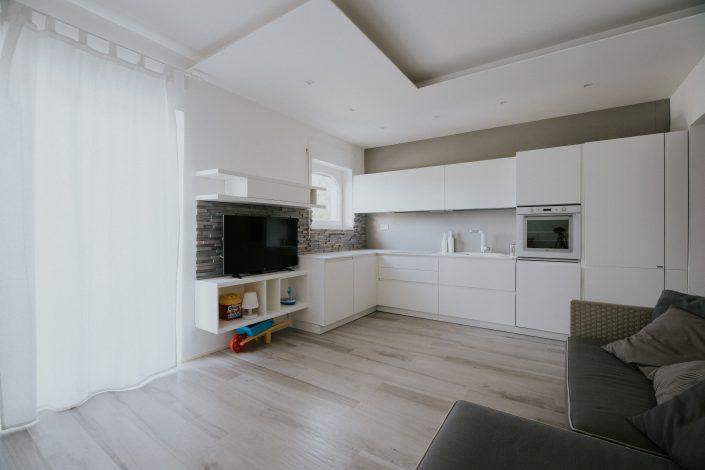 arredare living space moderno