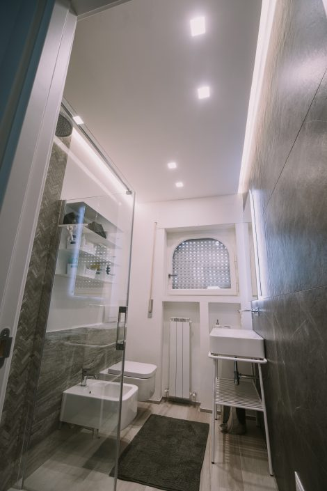 progetto illuminotecnico bagno