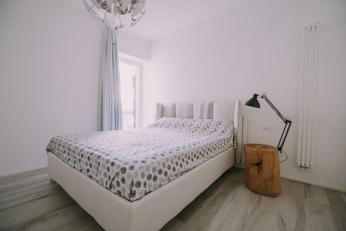 progetto arredo camera da letto matrimoniale