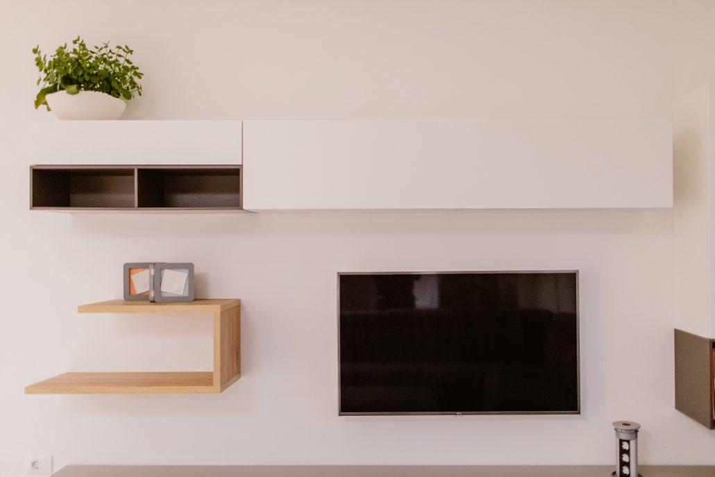 parete attrezzata componibile soggiorno