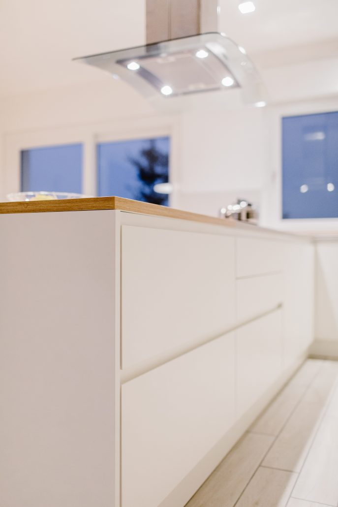 cassetti mobile cucina bianco