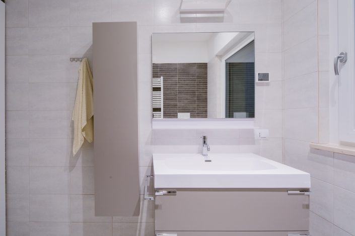 mobile bagno con lavabo sospeso