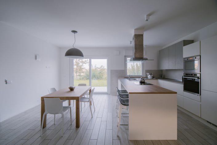cucina in stile nordico moderno