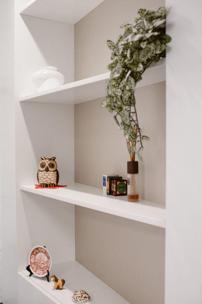 oggetti decorativi mensole idee