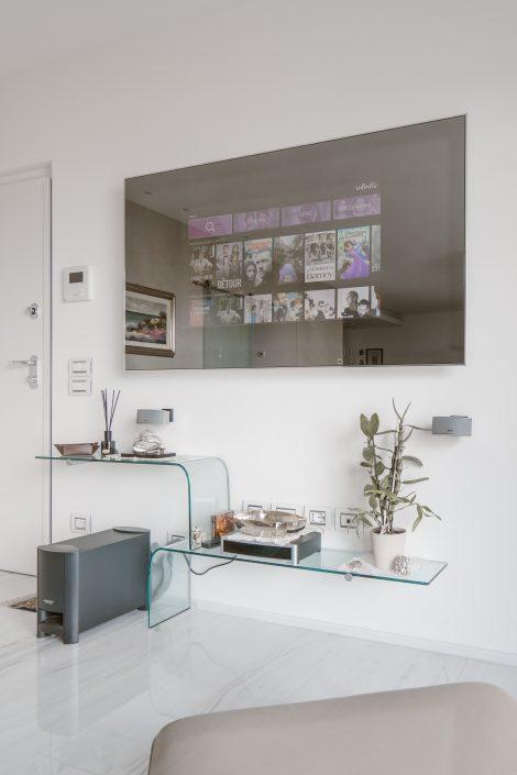 tv schermo a specchio