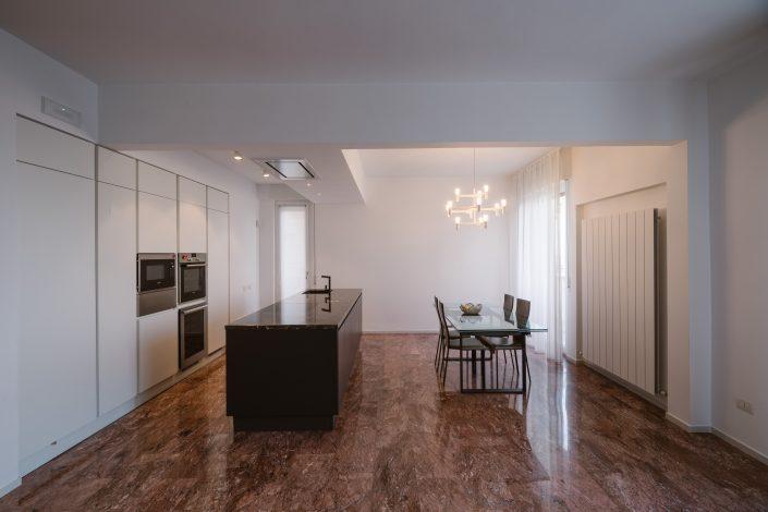 arredare open space minimal moderno