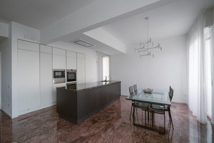 progetto cucina ampia design