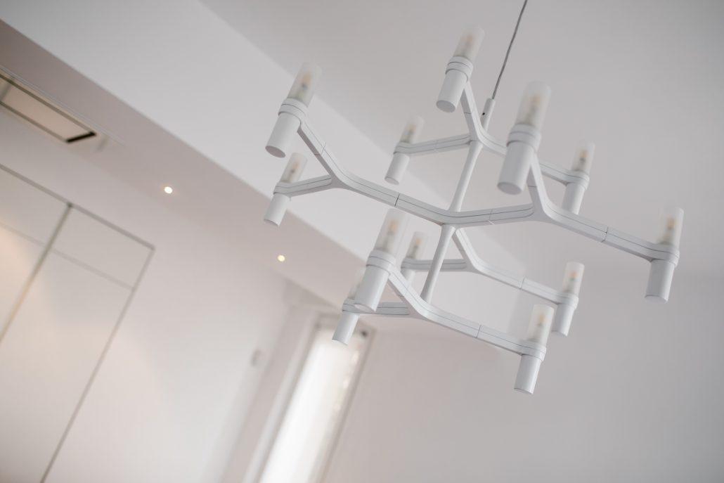 lampadario a sospensione bianco design