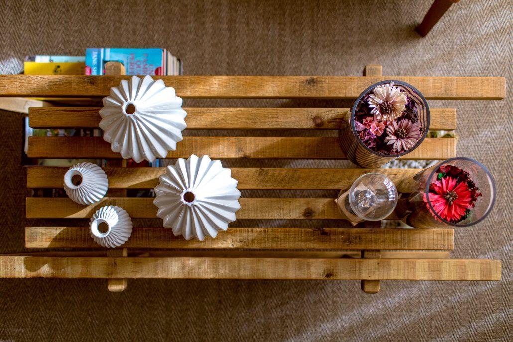 decorazioni tavolino salotto