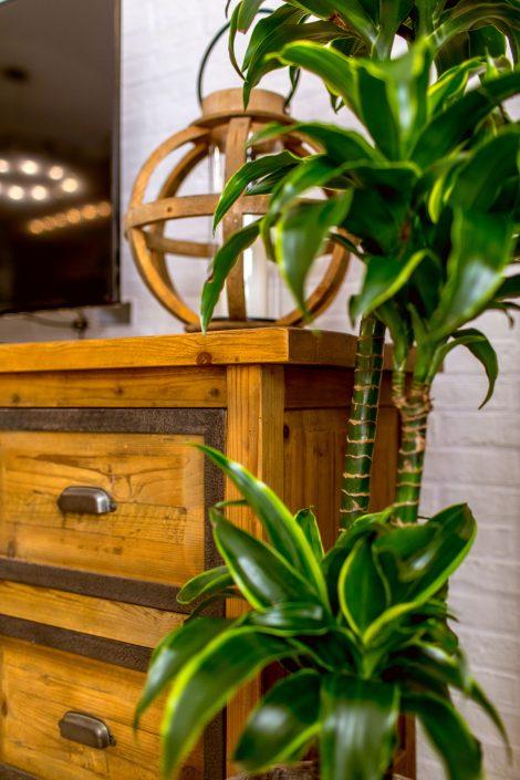 mobile legno industrial vintage
