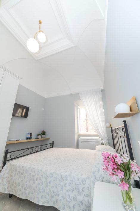 camera da letto chic colori pastello