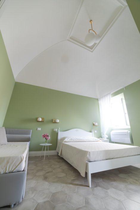 arredo minimal romantico camera da letto
