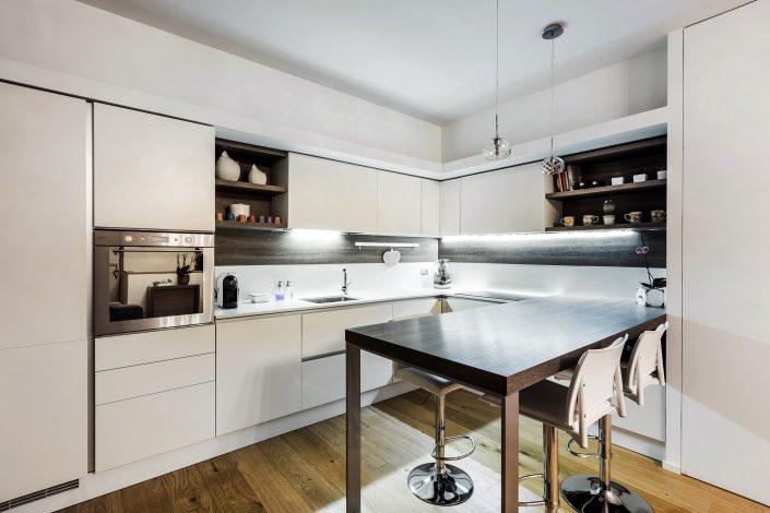 arredamento cucina moderna bianca