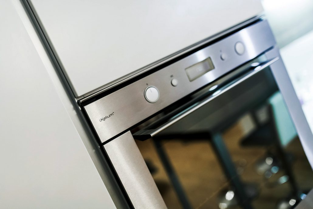 forno acciaio cucina moderna