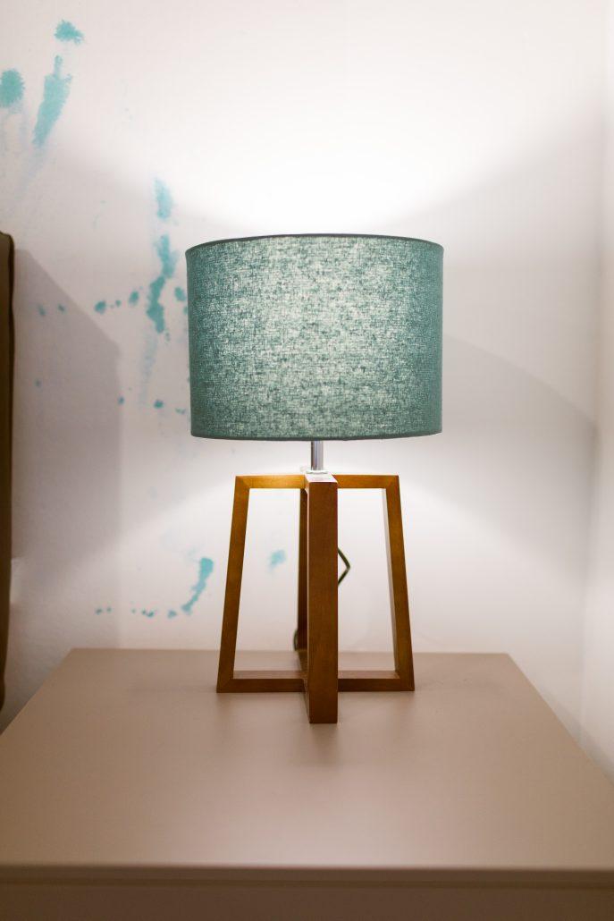 lampada comodino moderna colorata