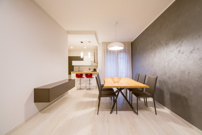 arredo sala da pranzo design moderno