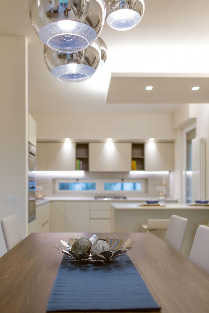 lampadario sfere vetro design