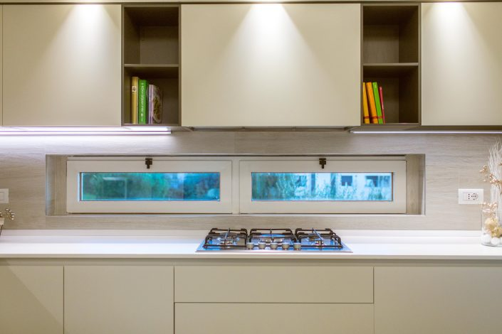 illuminazione pensili cucina