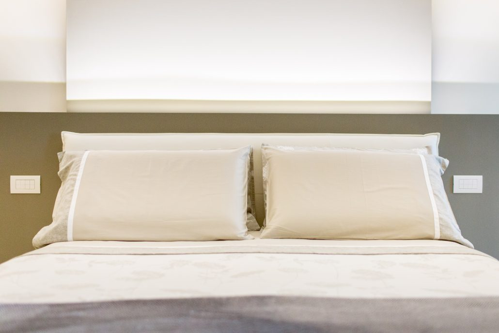 controparete in cartongesso camera da letto