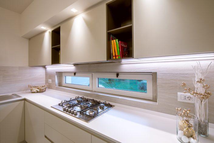 rivestimento cucina bianco