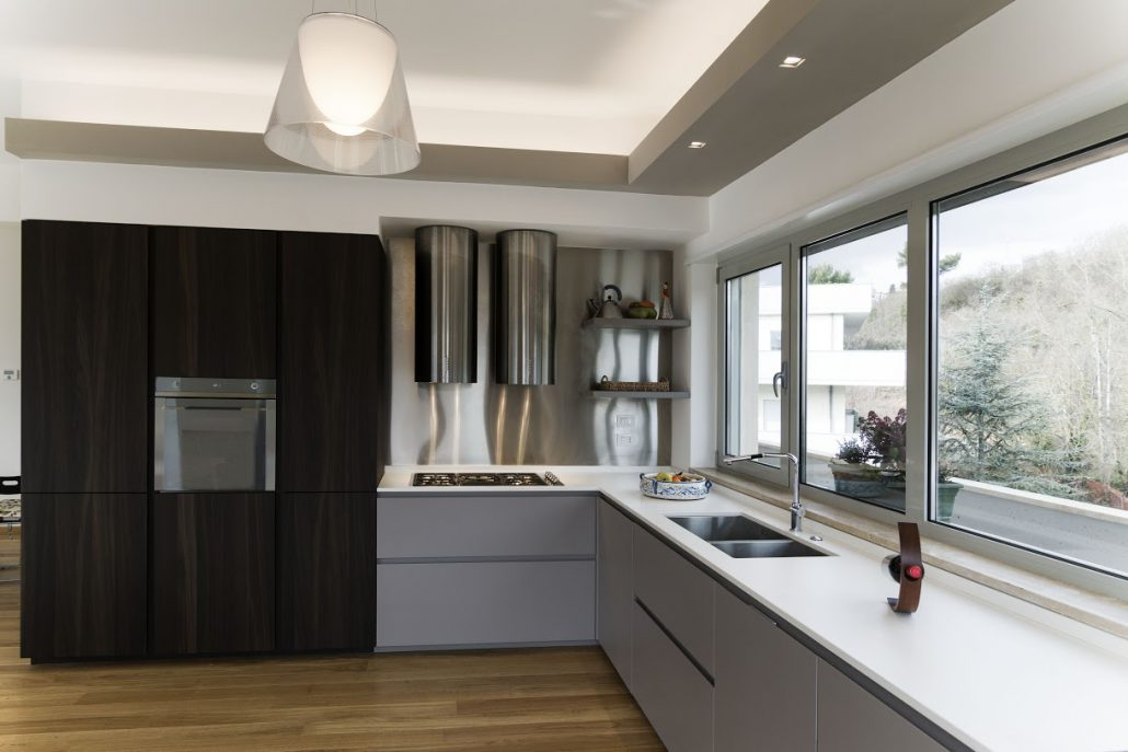 cucina angolare super moderna