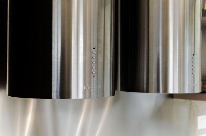 cappa cucina doppia in acciaio