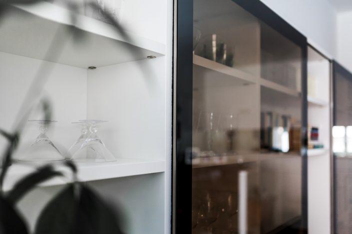mobile salotto ante in vetro