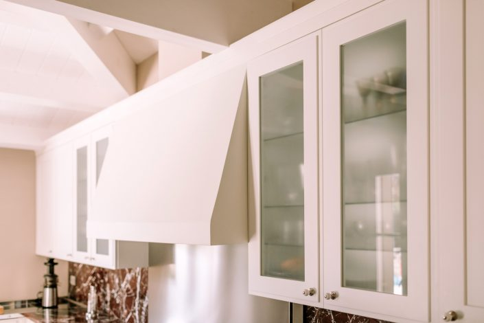 pensili cucina con vetro opaco