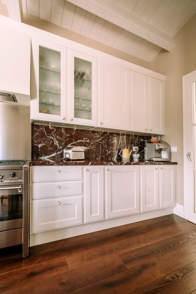 mobili bianchi cucina classica