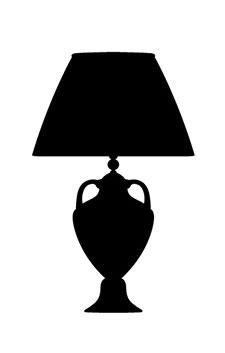 lampada vintage sagoma
