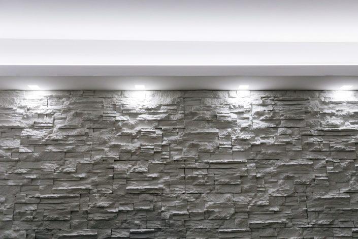 rivestimento in pietra per interni