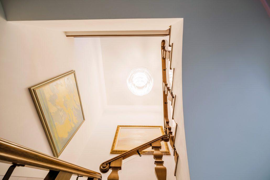 scale interne in legno classiche