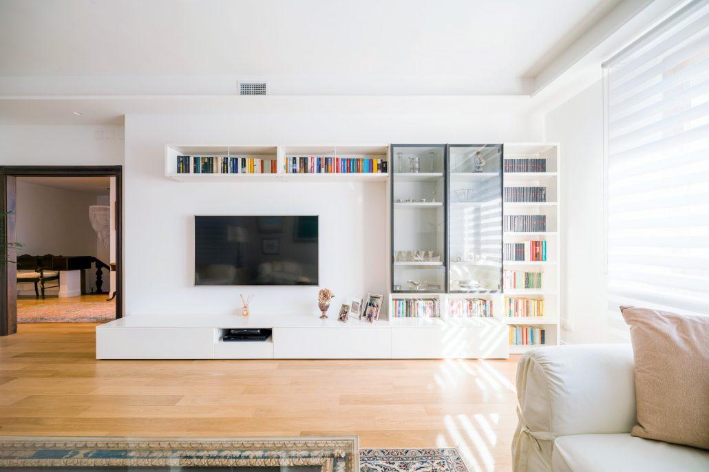 parete soggiorno componibile