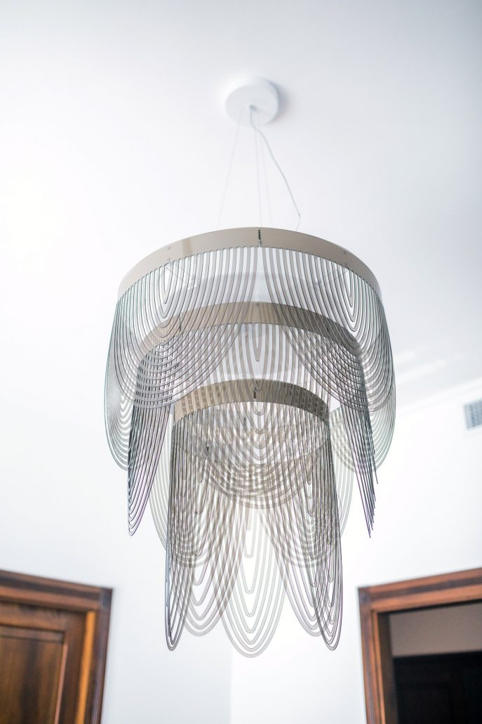 lampadario design metallo