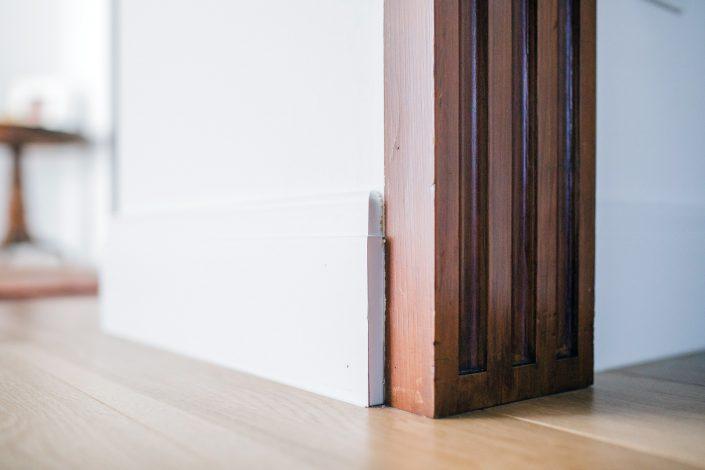 battiscopa in legno massello