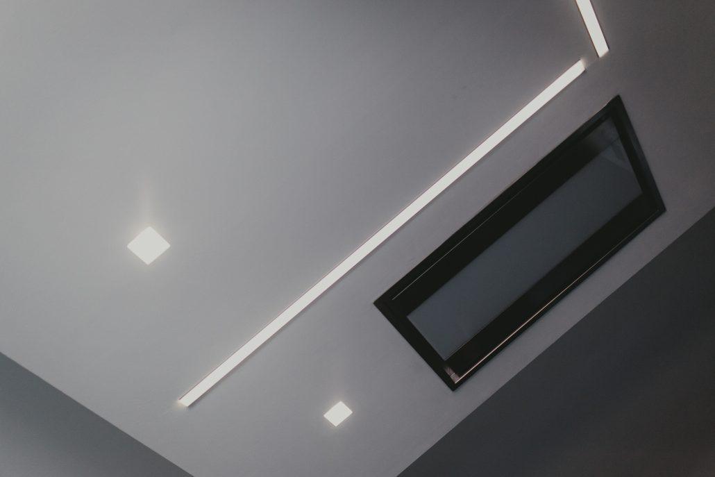 soluzioni illuminazione a soffitto