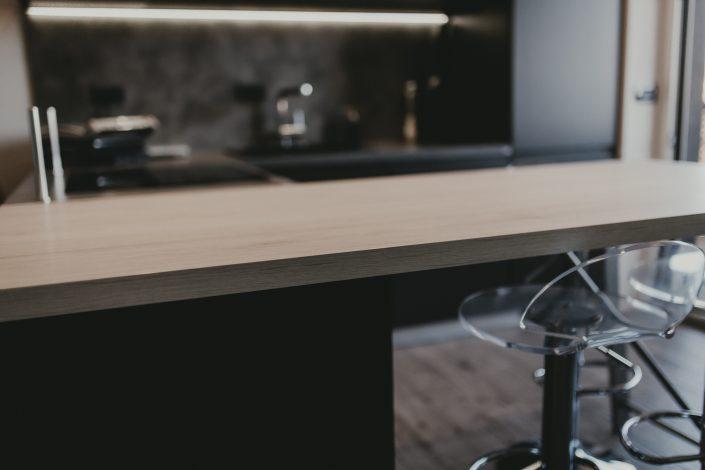 materiali cucina stile industriale