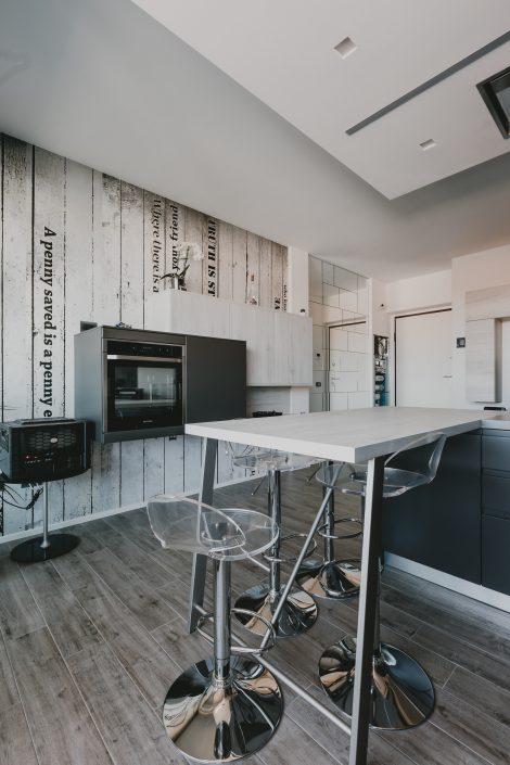 cucina moderna stile industriale